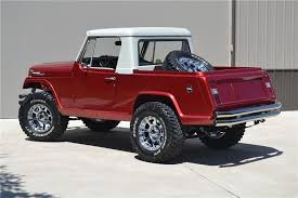 1969 Jeep Commando Custom Pickup Rear 3 4 177400 Jeeps