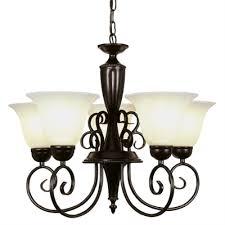 5 light bronze chandelier portfolio 5 light bronze chandelier lowe s canada