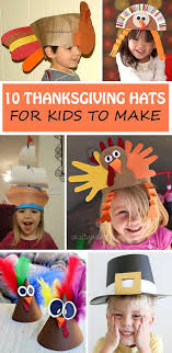 thanksgiving hats for to make and wear during the