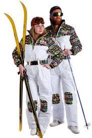 Tony Montana Halloween Costume 80s Neon Ski Suit Tony Montana Shinesty Onesies
