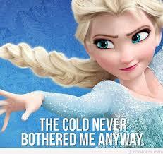 Elsa Frozen Meme - motivational frozen quotes