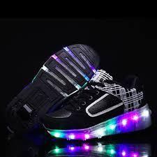 light up roller skate wheels led light up shoes kid boy s wheely s roller skate shoes