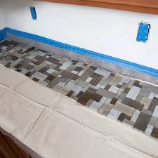 how to install backsplash tile in kitchen how to install a tile backsplash