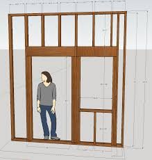 How To Frame A Door Opening Framing Update 5 17 11 Conard Green Energy Display Lab