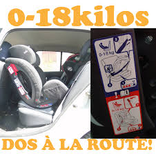 siège bébé dos à la route des trajets en voiture dans la joie et la bonne humeur test siège