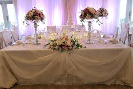 Bridal Table Decorations Decorations For Wedding Tables For New