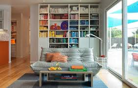 Bookcase Decorating Ideas Living Room A Colorful House