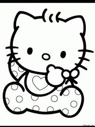 242 kitty images coloring sheets