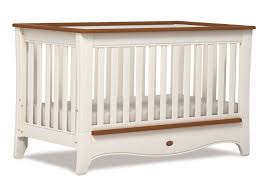Boori Sleigh Cot Bed Provence Convertible Plus Cot Bed Ivory And Honey Boori