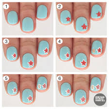 tutorial tuesday starfish nail art for barry m one nail to rule