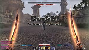 Two Dark Ui - darkui graphic ui mods elder scrolls online addons