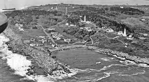 Cape Elizabeth Lights Cape Elizabeth Lighthouse Maine At Lighthousefriends Com