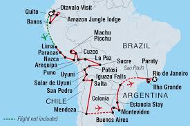 Americas Mood Map by Brazil Tours U0026 Travel Intrepid Travel Us