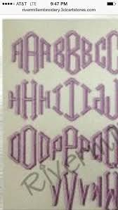 61 best monogram fonts images on pinterest monogram fonts