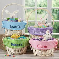 easter bunny gifts kids personalized easter baskets