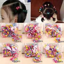 elastic hair bands 50pcs pack elastic hair bands kids rubber band hair