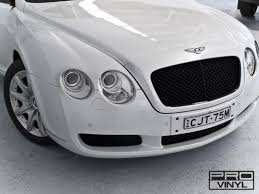 bentley continental matte white wrap vehicle vinyl wrapping and car paint protection 9