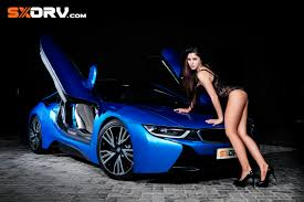 sport cars with girls jaenette jacobs bmw i8 exclusive interview u0026 pictures
