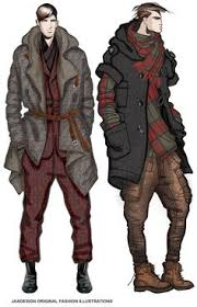 london december jaa design original fashion illustration http