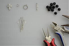 how to make rosary beaded bracelets tutorial how to make rosary bracelet with eyepins