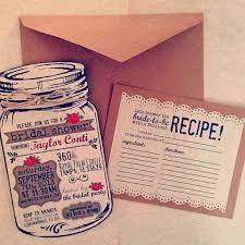 custom bridal shower invitations best 25 jar invitations ideas on rustic wedding