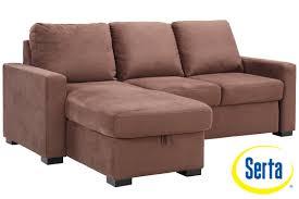 sofas center augustine loveseat sleeper moon grey by serta