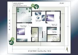 first floor plan for facing house