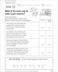 3rd grade fraction word problems worksheets multiplying decimals