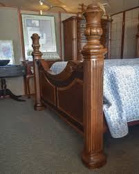 Chris Madden Bedroom Furniture by Chris Madden Queen Poster Bed New England Home Furniture Consignment