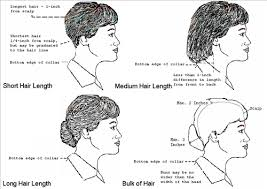 haircuts appropriate for navy women navy uniforms navy uniform regulations haircut