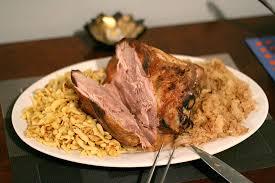 slow roasted pork shoulder u0026 sauerkraut with home made spaetzle