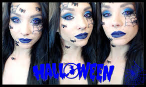 spider queen halloween makeup youtube