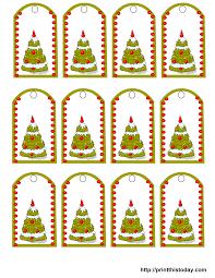 free christmas tree printable christmas lights decoration