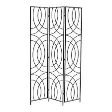 modern 3 panel room dividers allmodern
