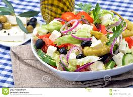 country style salad stock images image 19581114