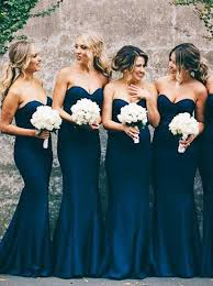 bridesmaid dresses in blue best 25 navy blue bridesmaid dresses ideas on navy