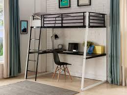 lit mezzanine bureau blanc lit mezzanine malicia 90x190 bureau option matelas