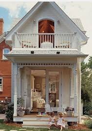 tiny two story house two story home additions tiny houses smallest house and balconies