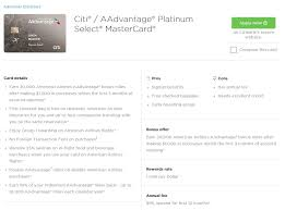 Aa Baggage Fee by 6 Things To Know About Citi Aadvantage Platinum Select Credit Card