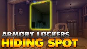 locker siege social armory lockers hiding spot on border rainbow six siege