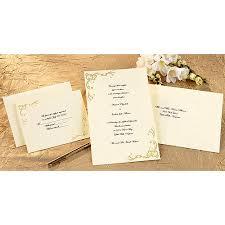 wilton wedding invitations wilton print your own invitations kit scrollwork gold 50 ct 1008