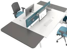 bureau coulissant bureau en bench pour espaces de travail coworking