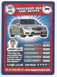 top gear mercedes e63 amg top gear card turbo challenge 322 mercedes e63 amg