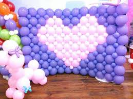 Wall Decoration With Balloons by Balloon Wall Decor Awesome Diy Balloons Decorations Best