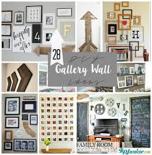 28 ideas for living room wall gallery ideas 28 ideas for gorgeous diy gallery walls tip