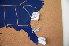 World Map Cork Board by Usa Cork Board Map