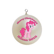 personalized my pony pinkie pie ornament 1