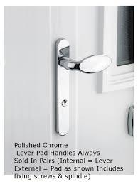 screwfix doors external u0026 milan round rose lever door handles
