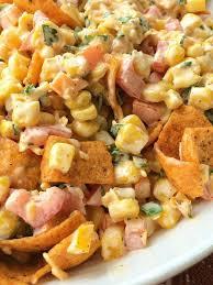 fritos corn salad together as family