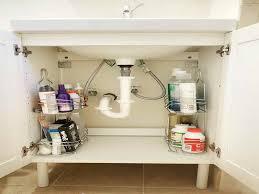 Bathroom Cabinet Organizer Under Sink by Bathroom Under Sink Storage Solutions Small Bathroom Storage
